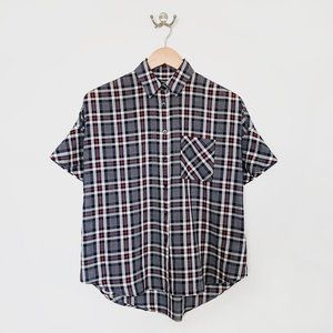🌱 Madewell Navy, Red + White Top | XXSmall